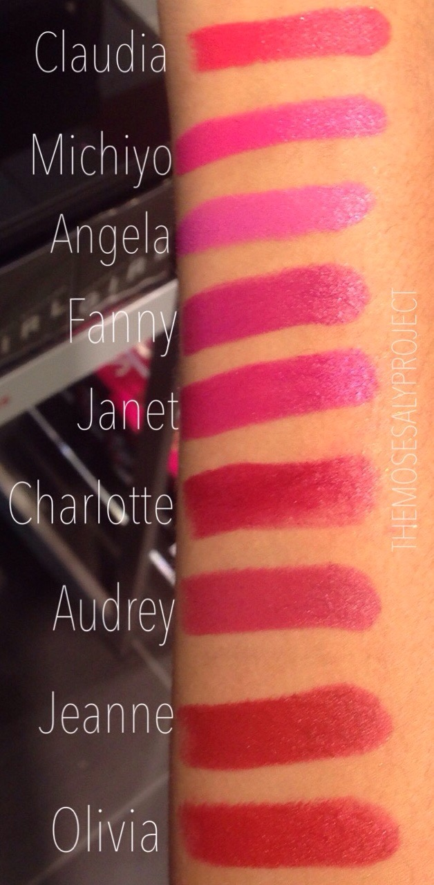 Assez NARS Audacious Lipsticks] – Swatches on NC45 Dark Skin – Mosesaly TJ94