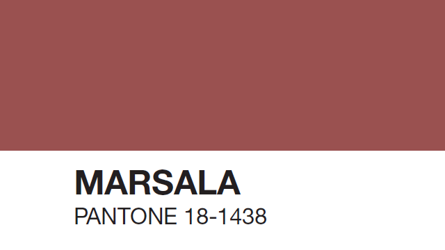 Marsala Colour