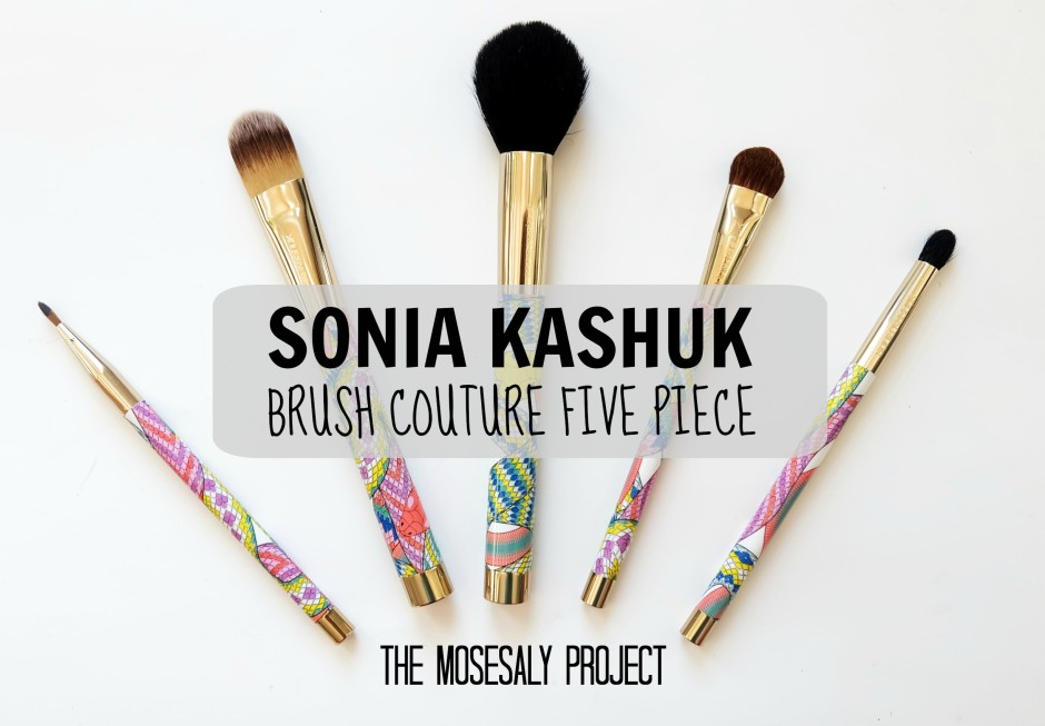 Sonia Kashuk brush couture five piece