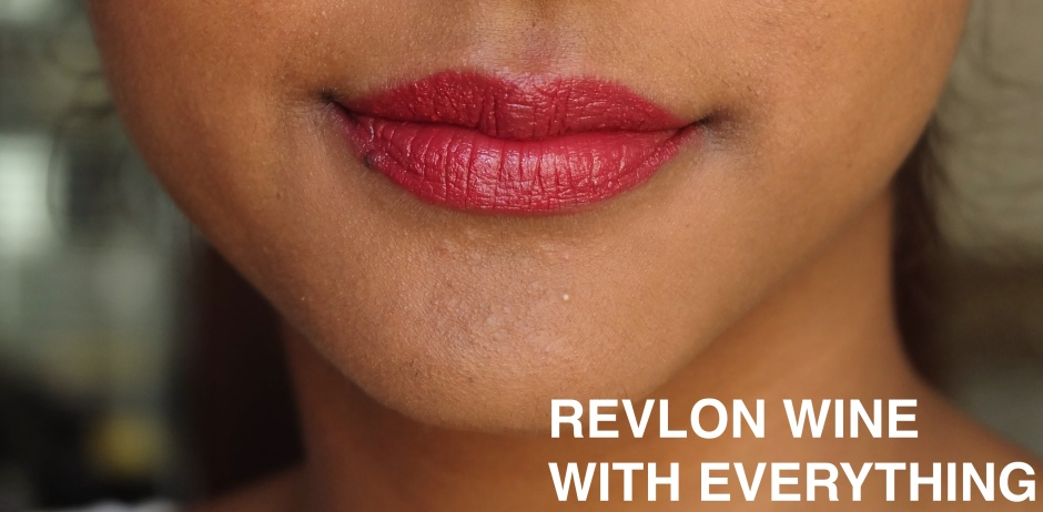 REVLON WINE WITH EVERYTHING