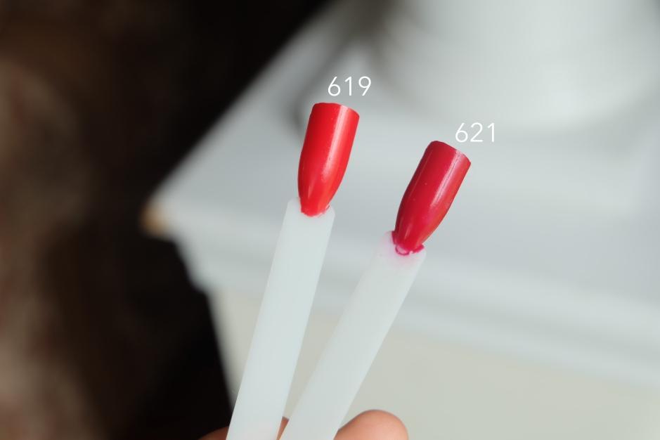 red inglot 02m breathable nail polish