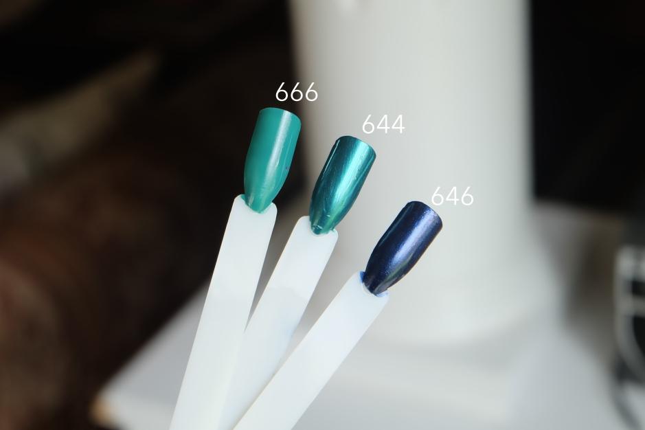 blue inglot 02m breathable nail polish