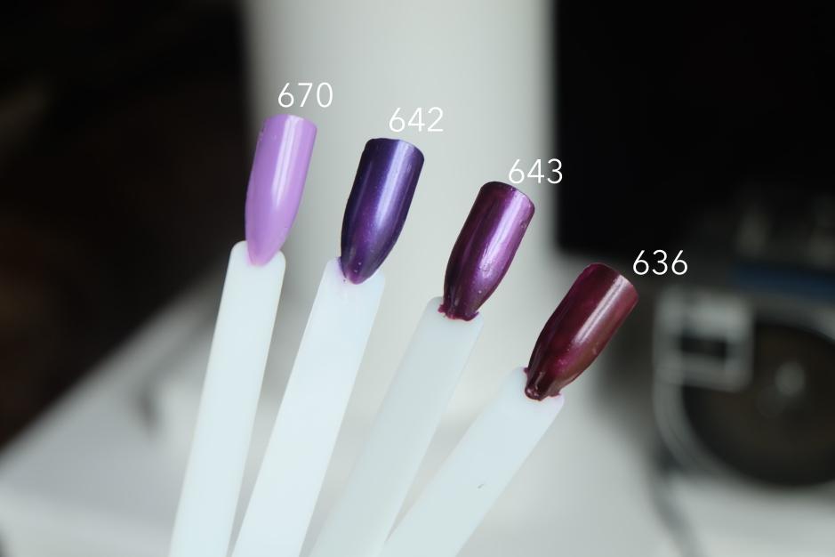 purple inglot 02m breathable nail polish
