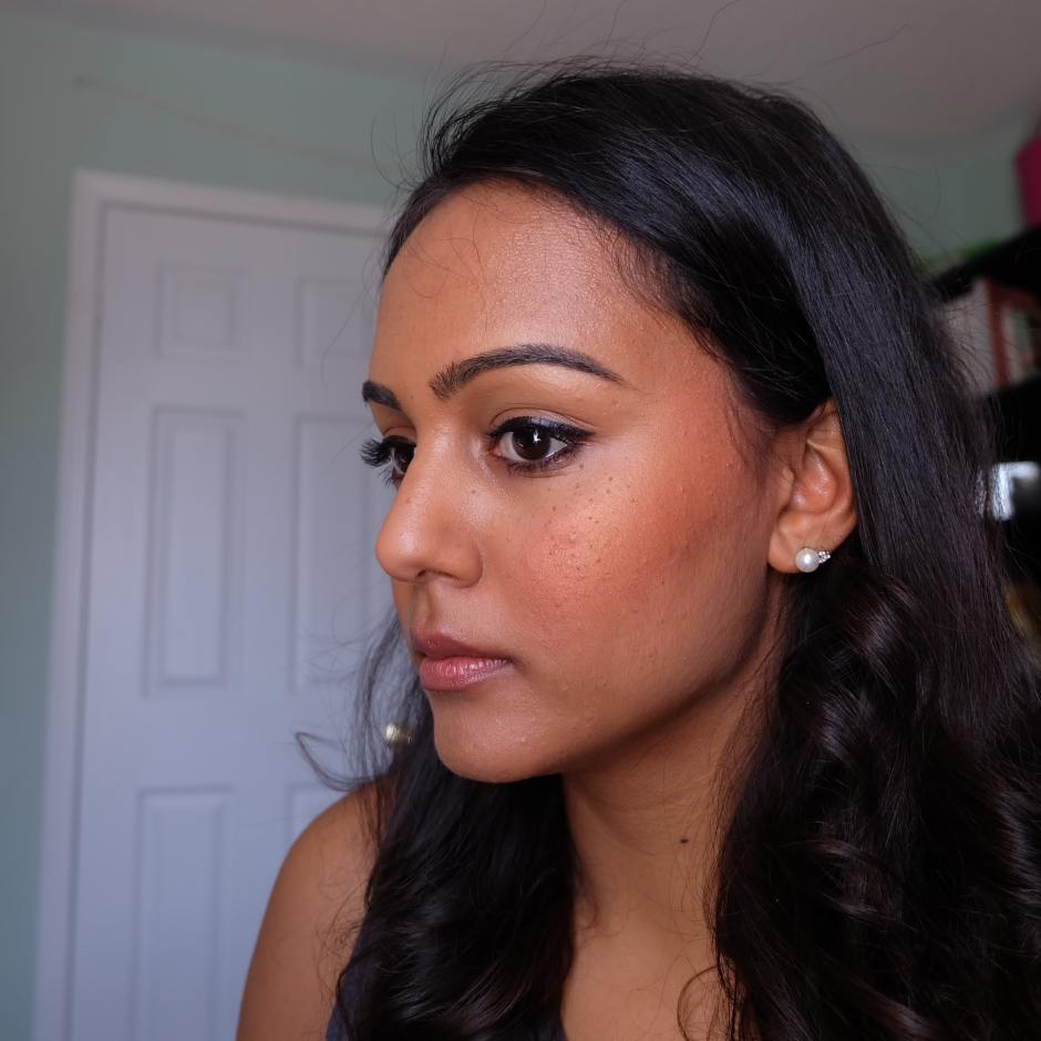 NARS TAJ MAHAL on NC45 darker indian skin
