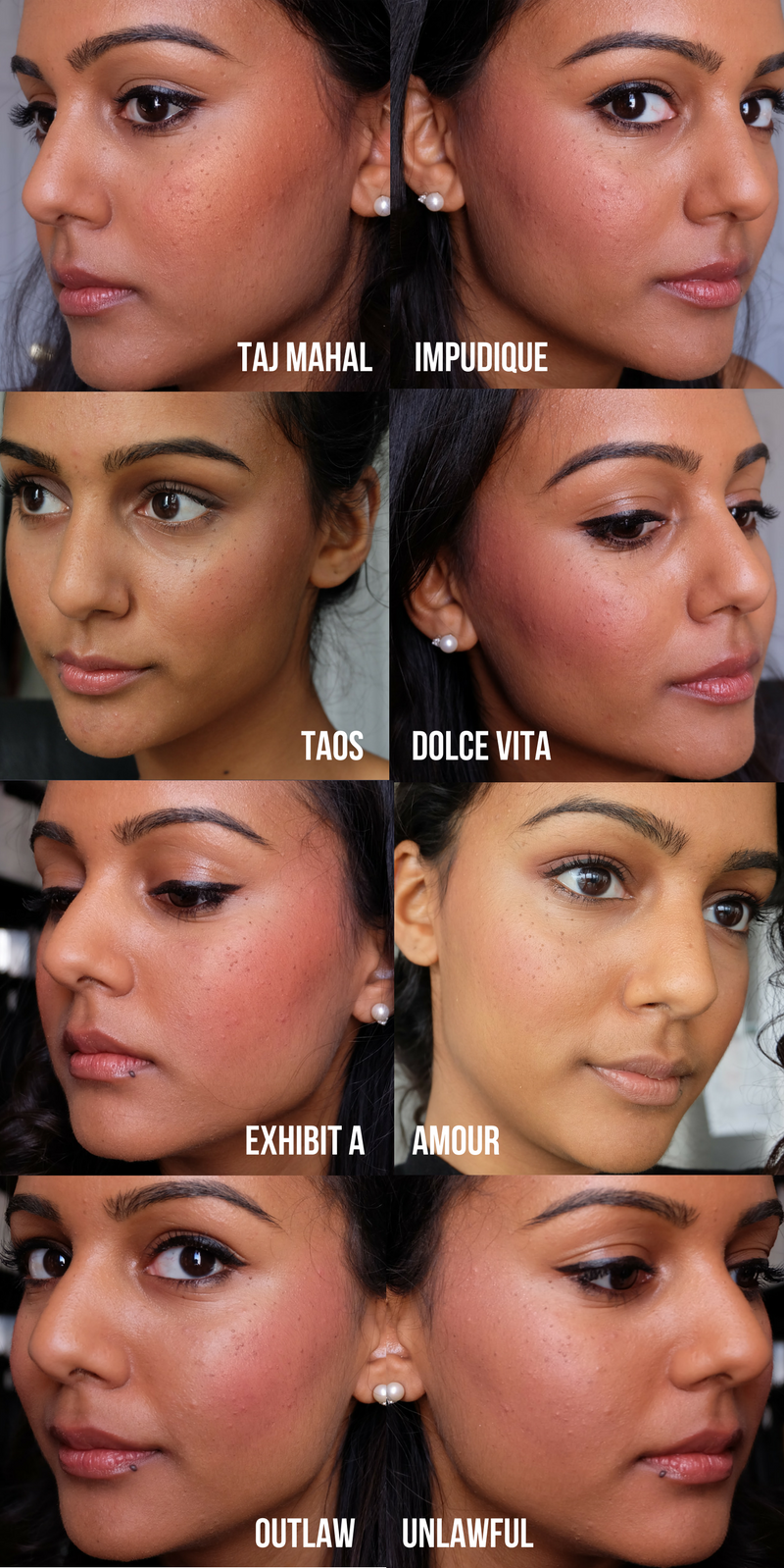 Best nars blushes for dark nc45 indian skin